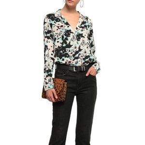 Equipment Adalyn Floral Button-Down Blouse